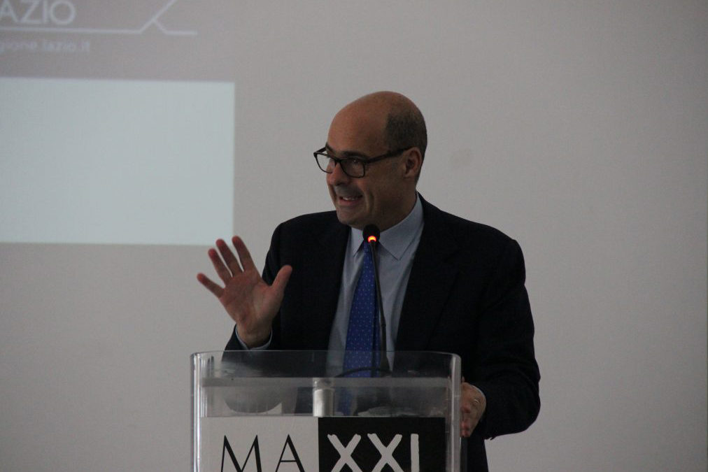 Press conference of the introduction of the 7 regional grant winning projects ARTE SUI CAMINI